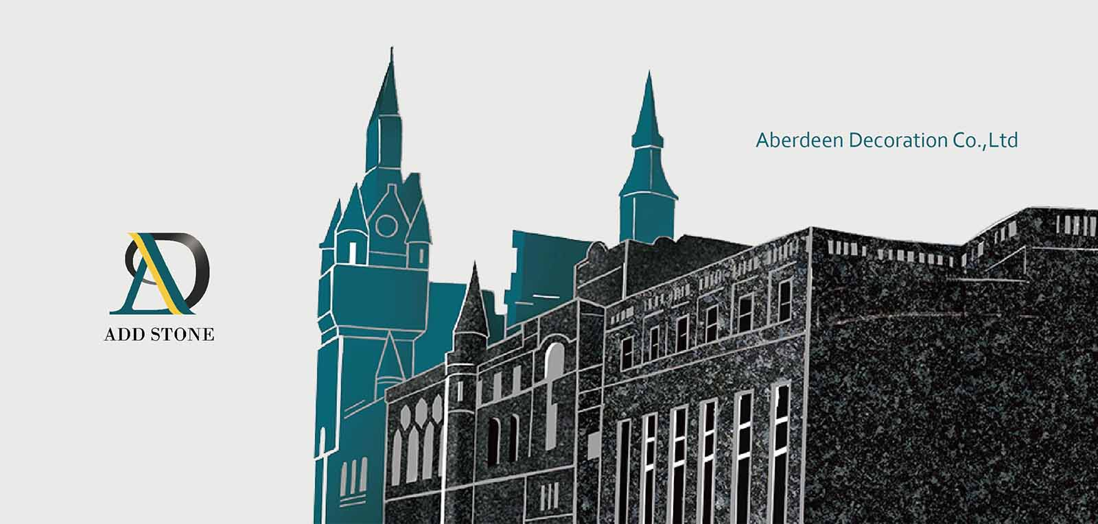 Aberdeen, the Granite City, also known as Silver City. Take with its deep meaning of beautiful and the way of company development to name our company.