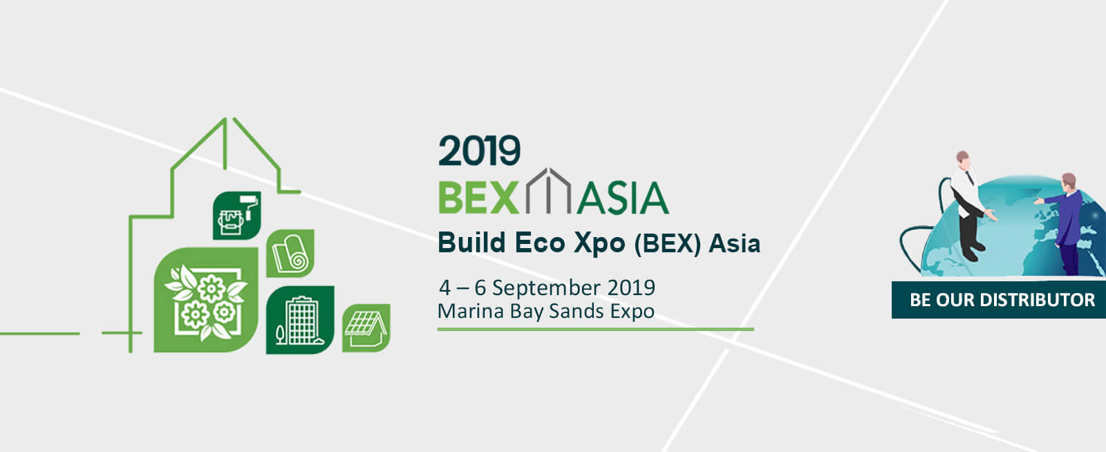 September 2019 Bex Asia Singapore Green & Quality Building Materials Exhibition